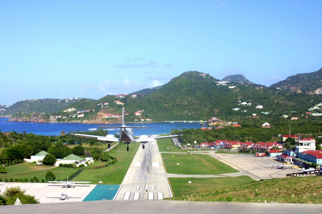 St Barth airport