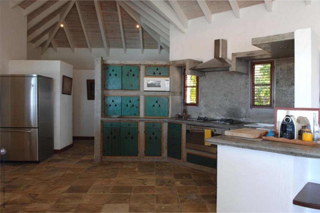 Villa Cygne kitchen