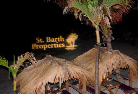 St Barth Properties in the sand
