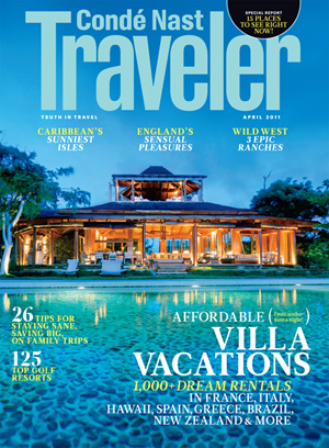 Condé Nast Traveler April 2011
