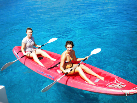 Kayaking-off-of-Colombier-Beach