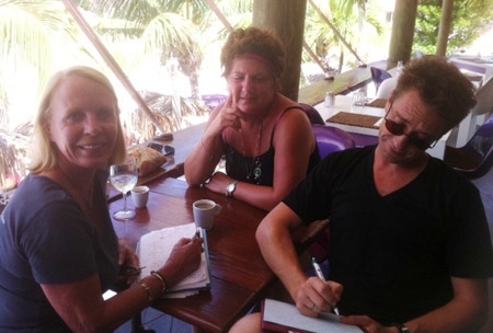 Planning-the-menu-with-Xavier-Pignet-for-St-Barth-Properties-November-10-2011-Beachside-Bash-at-Do-Brazil