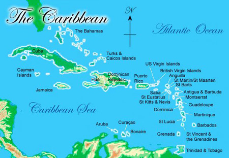 Where is st barth located st barths location and climate pegs blog caribbean map caribbean map st barthlemy publicscrutiny Choice Image