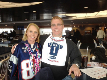 Peg-with-son-Mark-at-Gillette-Stadium-before-the-Pats-vs-Ravens-game-Jan-22-2012