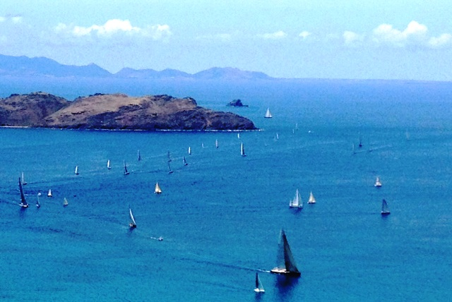 Les Voiles de St. Barth 2012; Full Moon party at La Plage ...