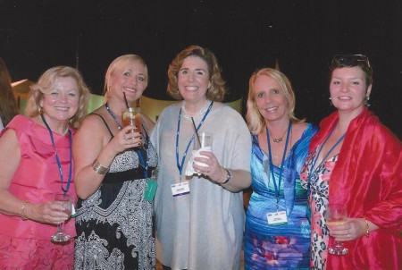 Villa Specialists Marilyn Pulito St Martin, Julie Byrd Cabo, Conde Nast Editor Wendy Perrin, Peg Walsh St Barth, Gail Boisclair Paris Apartments at the Summit in Grand Cayman