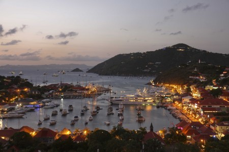 View of Gustavia from the Hotel Carl Gustaf