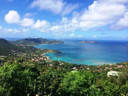 View from my house in St. Barth Jan 22, 2014