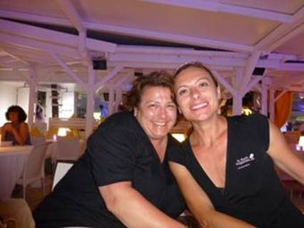 Our concierges at La Plage