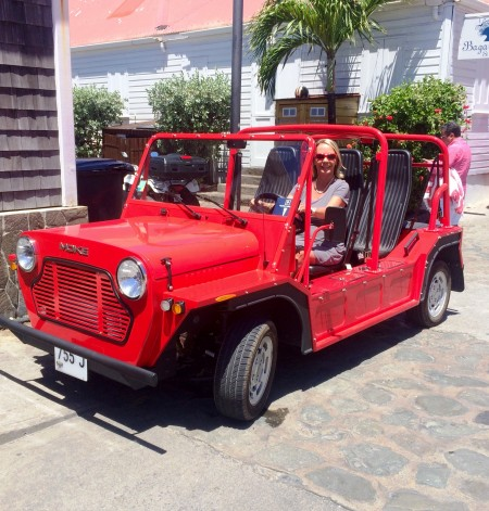 The Moke is back in St. Barth!