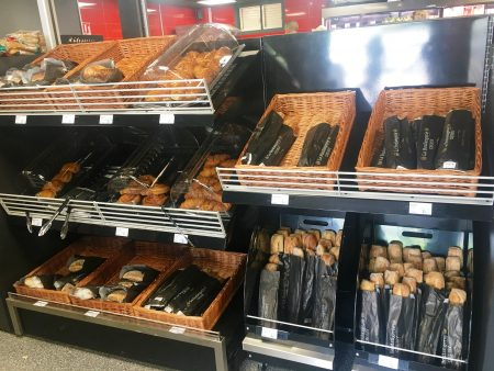 Oasis offers fresh baguettes and pastries