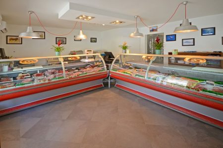 La Boucherie has fresh meat as well as fish