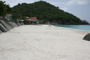 Corossol Beach resanded