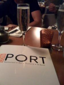 Côté Port Menu
