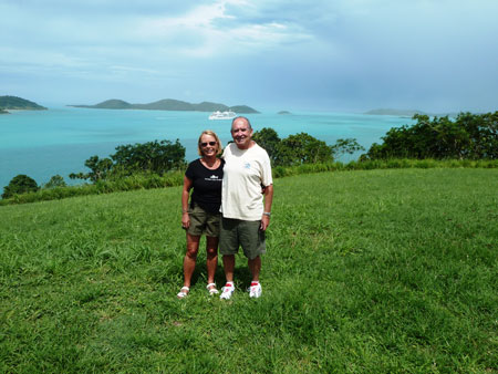 Steve and Peg on Thursday Island