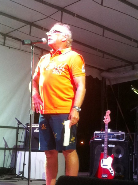 Jimmy Buffett Welcome Speech at Les Voiles de St. Barth
