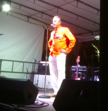 SBP's Benoit Meesemaecker, President of the St. Barth Yacht Club