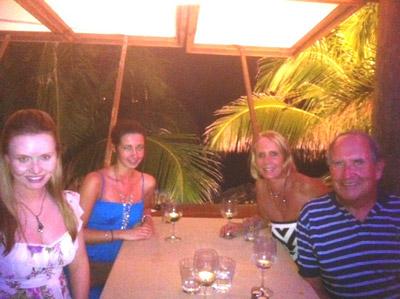 Dinner at Do Brazil