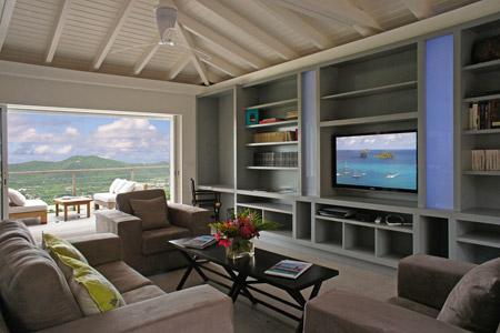 Villa Coco de Mer Living Room