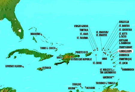 Where Is St Barth Located S Location And Climate Peg Blog