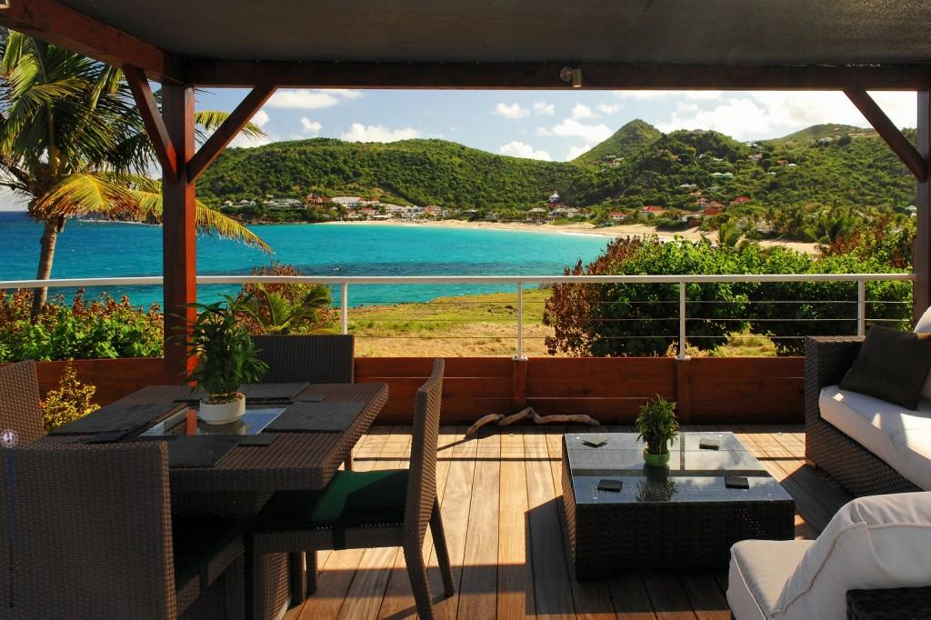 Villa Les Embruns deck