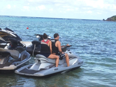 Vince-and-Sam-get-ready-to-Jet-Ski-around-St