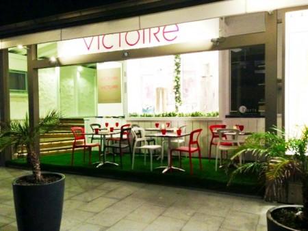 Café Victoire rue Général de Gaulle Gustavia