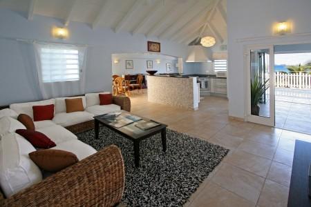 Villa La Sirène Living Room