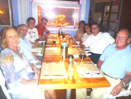 Dinner at the Santa Fe
