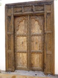 Villa Valentina Balinese wooden door