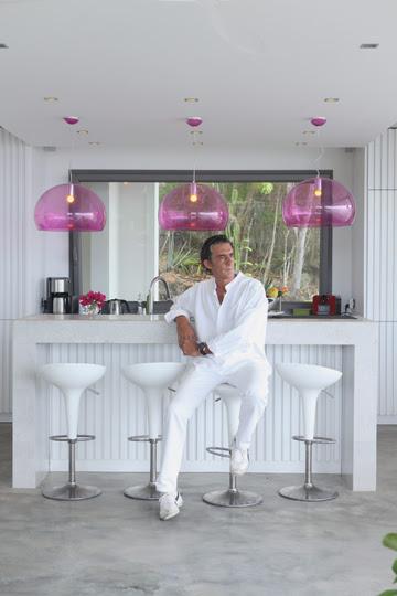 Chef Jean-Claude Dufour at Villa GEM in Gouverneur