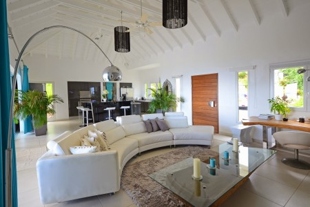 Villa Azur Living Room