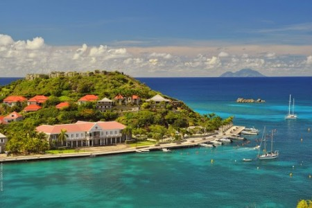 Official wedding ceremonies in St. Barth always take place at the Hôtel de la Collectivité