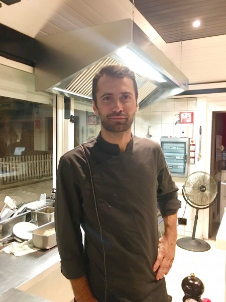 Julien Losada is the very talented chef at Carpe Diem