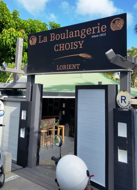 The Choisy bakery in Lorient
