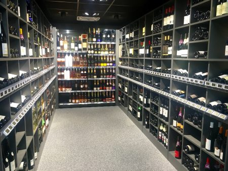 Oasis has a nice selection of wines