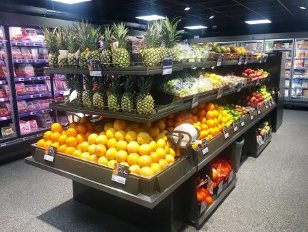 Oasis has fresh fruit and vegetables galore!