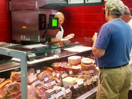 The deli at Oasis has a wide variety of charcuterie.
