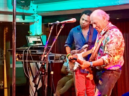 Jimmy Buffett loves to stop by the Baz Bar once in a while to give us an impromptu set of songs. Hope you are lucky enough to see him.